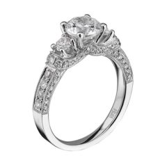 Scott Kay Crown Setting Engagement Ring #M1639R310MM