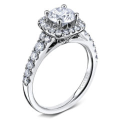 Scott Kay Luminaire Engagement Ring #M1657R307WW