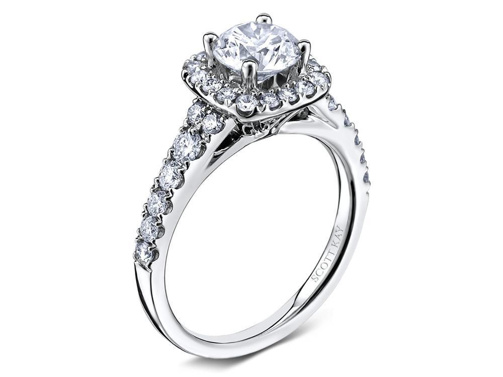 Bon Scott Kay Luminaire Engagement Ring #M1657R307WW