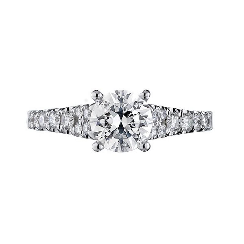 Scott Kay Platinum Five Diamond 0 18ct Wedding Band: Scott Kay Luminaire Engagement Ring #M1693R310MM