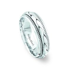 Gelin Abaci Amore Men's Wedding Band #71075B