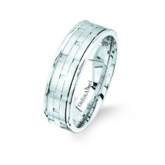 Gelin Abaci Amore Men's Wedding Band #71125B