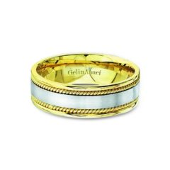 Gelin Abaci Amore Men's Wedding Band #72039