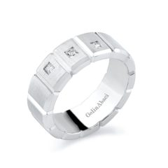 Gelin Abaci Amore Men's Wedding Band #A-3822