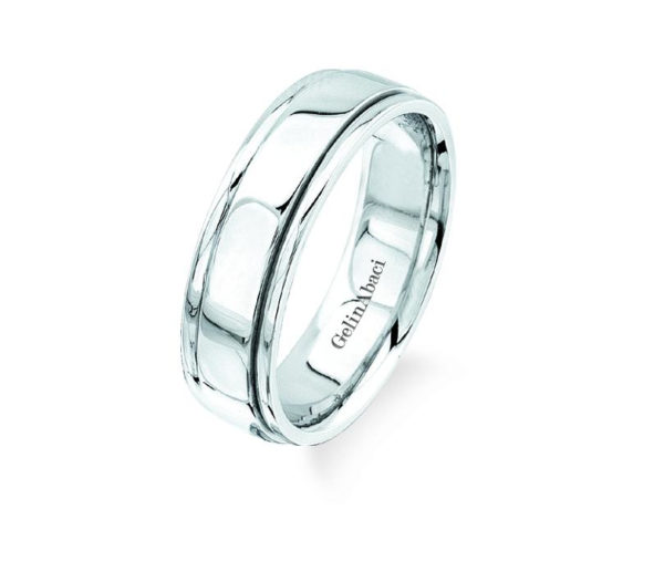 Gelin Abaci Amore Men's Wedding Band #B-105