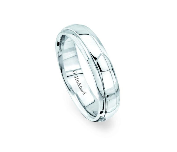 Gelin Abaci Amore Men's Wedding Band #B-106