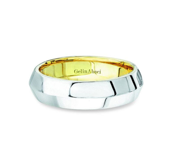 Gelin Abaci Amore Men's Wedding Band #B-120
