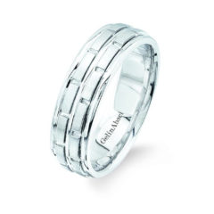 Gelin Abaci Amore Men's Wedding Band #B-131