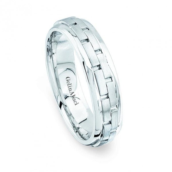 Gelin Abaci Amore Men's Wedding Band #B-172