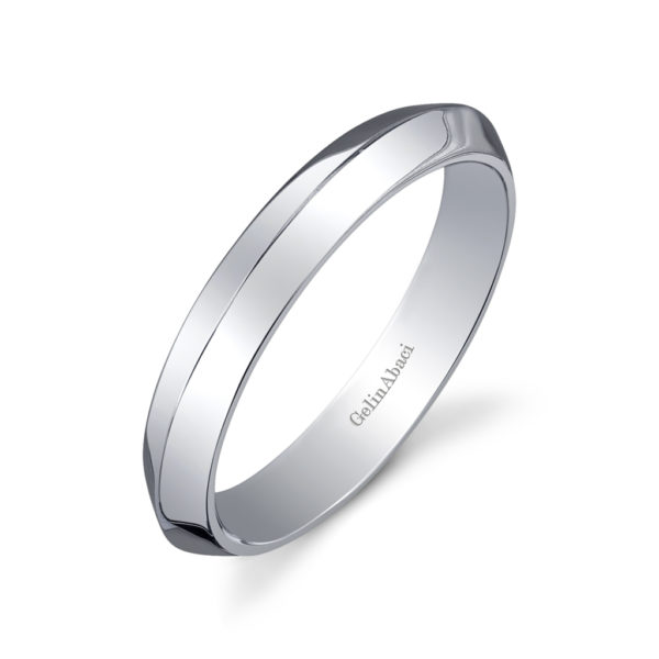 Gelin Abaci Amore Men's Wedding Band #B-224