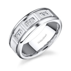 Gelin Abaci Amore Men's Wedding Band #C1355