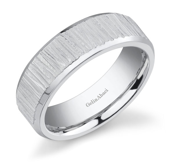 Gelin Abaci Amore Men's Wedding Band #E-4836