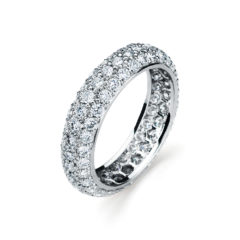 Garvani Eternity Wedding Band #33629