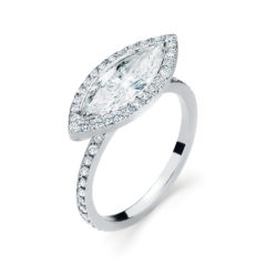 Vintage Engagement Ring #SM310020 Moore Engagement Ring Style #30901