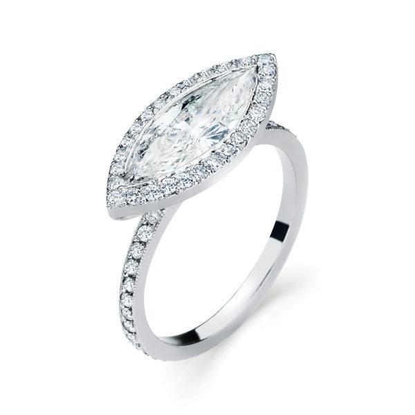 Stuart Moore Engagement Ring Style #30901