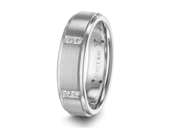 Scott Kay Men's Wedding Band Style C0670RDC65P6