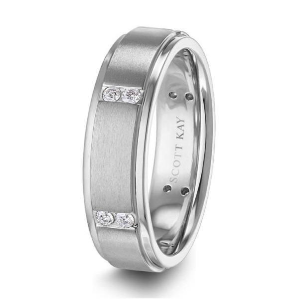 Scott Kay Men's Wedding Band Style C0670RDC65P6