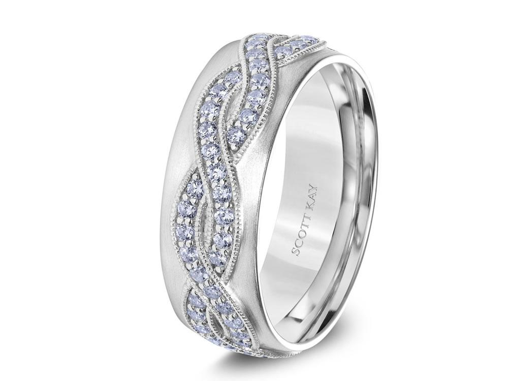 Scott Kay Men S Wedding Band Style G4058rs8