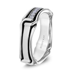 Scott Kay Men's Wedding Band Style G4084RBV6