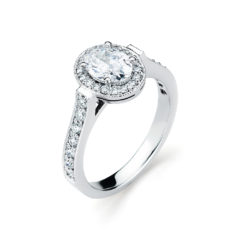Vintage Engagement Ring #SM310020