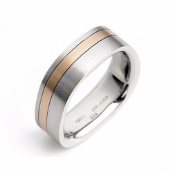 Stuart Moore Men's Wedding Band #105