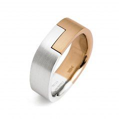 Stuart Moore Men's Wedding Band #106