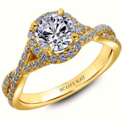 Scott Kay Namaste Engagement Ring #31-SK5637ERY
