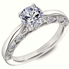 Scott Kay Heaven's Gate Engagement Ring #31-SK5668FR