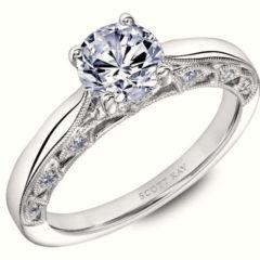 Scott Kay Heaven's Gate Engagement Ring #31-SK5668FR