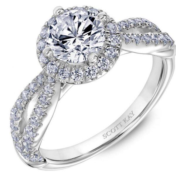 Scott Kay Namaste Engagement Ring #31-SK5632ER