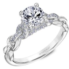 Scott Kay Embrace Engagement Ring #31-SK5643ER