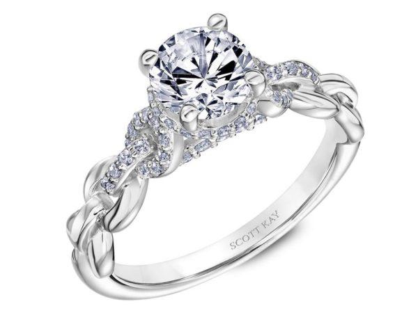 Scott Kay Embrace Engagement Ring #31-SK5643ER