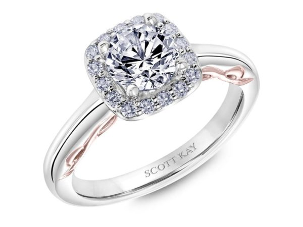 Scott Kay Luminaire Engagement Ring #31-SK5685ER