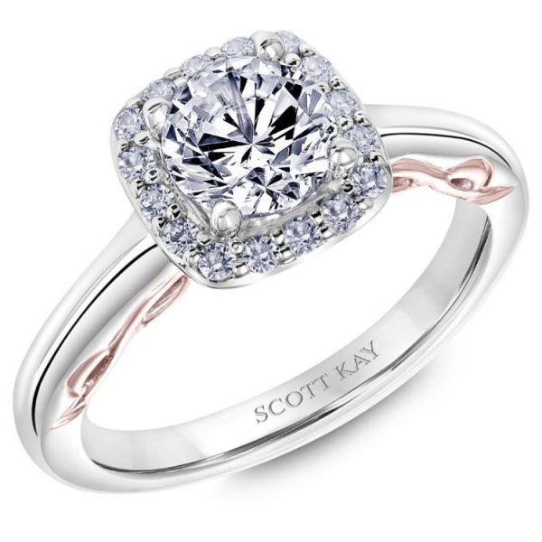 Scott Kay Luminaire Engagement Ring #31-SK5685ER