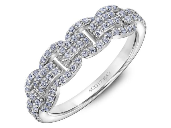 Scott Kay Embrace Wedding Band #31-SK6034