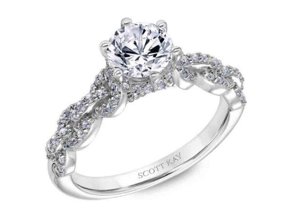 Scott Kay Embrace Engagement Ring #31-SK6037ER