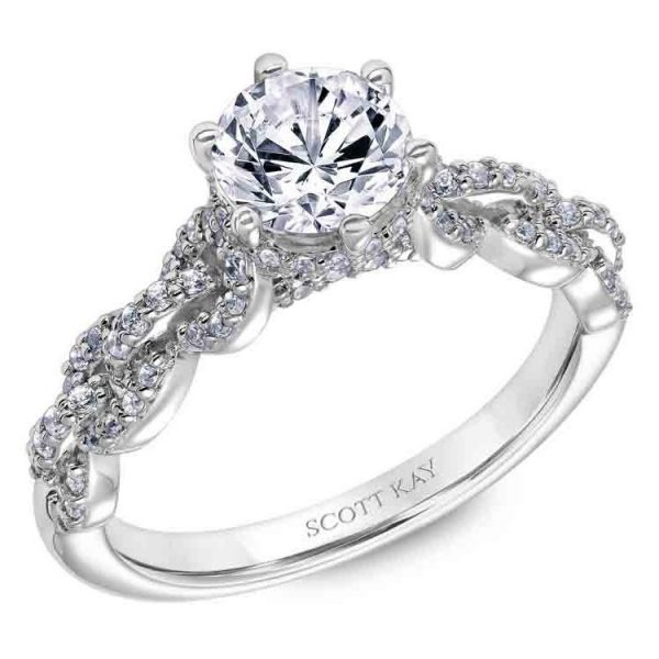 Scott Kay Embrace Engagement Ring #31-SK6037ER