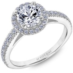 Scott Kay Luminaire Engagement Ring #31-SK8239ER