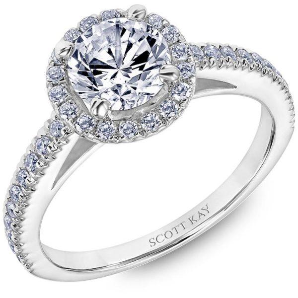 Scott Kay Luminaire Engagement Ring #31-SK8239ER
