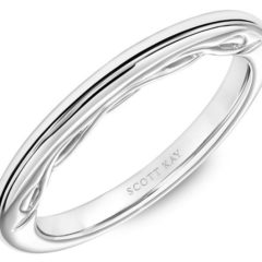Scott Kay Luminaire Wedding Band #31-SK5684W