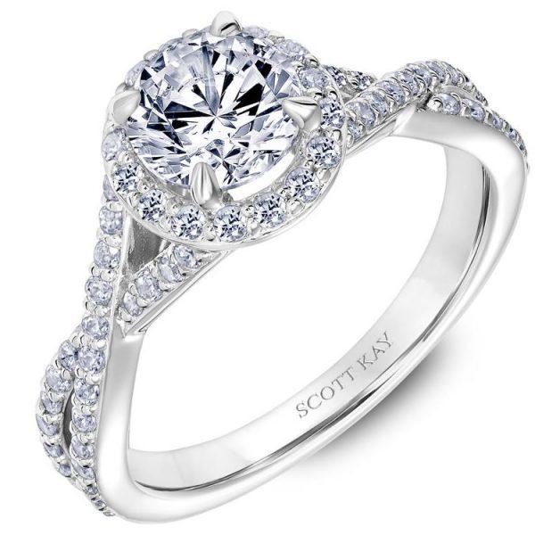 Scott Kay Namaste Engagement Ring #31-SK5637ERW