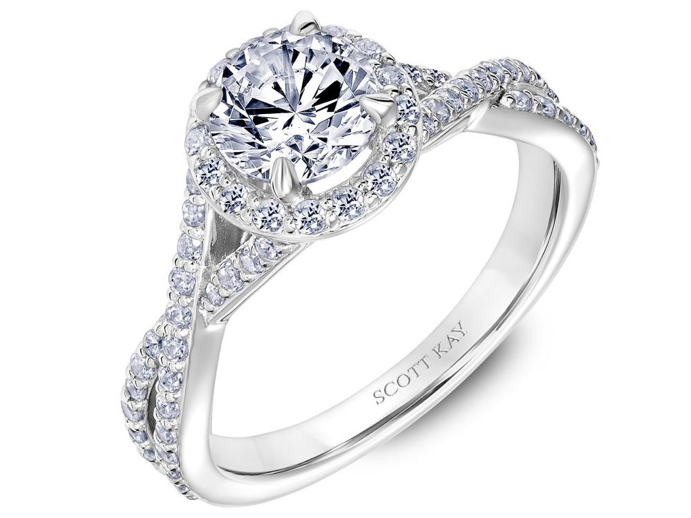 Scott Kay Namaste Engagement Ring #31-SK5637ERW